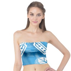 Snowflakes 1  Women s Tube Tops