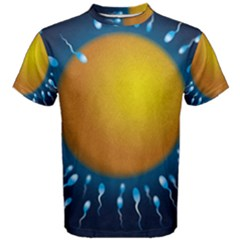 Sperm Fertilising Egg  Men s Cotton Tees