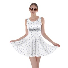 Officially Sexy OS Collection Blue & White Skater Dress