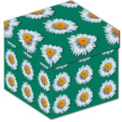 Daisy Pattern  Storage Stool 12