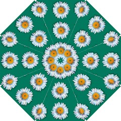 Daisy Pattern  Hook Handle Umbrellas (Small)