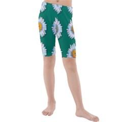 Daisy Pattern  Kid s swimwear