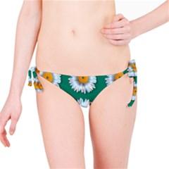 Daisy Pattern  Bikini Bottoms