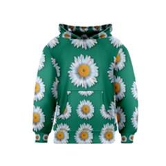 Daisy Pattern  Kid s Pullover Hoodies