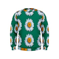 Daisy Pattern  Boys  Sweatshirts