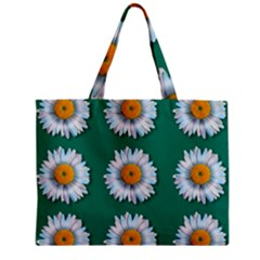 Daisy Pattern  Zipper Tiny Tote Bags