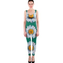 Daisy Pattern  OnePiece Catsuits