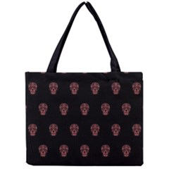 Skull Pattern Pink  Tiny Tote Bags