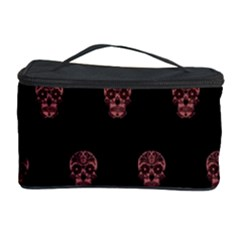 Skull Pattern Pink  Cosmetic Storage Cases