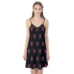 Skull Pattern Pink  Camis Nightgown