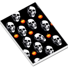 Skulls And Pumpkins Large Memo Pads