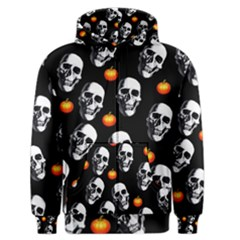 Skulls And Pumpkins Men s Zipper Hoodies