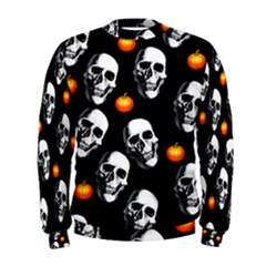Skulls And Pumpkins Men s Sweatshirts