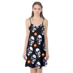 Skulls And Pumpkins Camis Nightgown