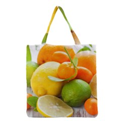 Citrus Fruits Grocery Tote Bags