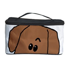 Peeping Dachshund Cosmetic Storage Cases
