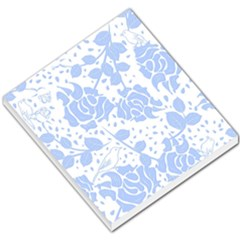 Floral Wallpaper Blue Small Memo Pads