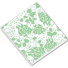 Floral Wallpaper Green Small Memo Pads