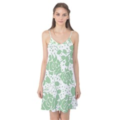 Floral Wallpaper Green Camis Nightgown
