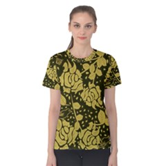 Floral Wallpaper Forest Women s Cotton Tees