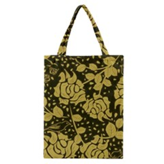 Floral Wallpaper Forest Classic Tote Bags