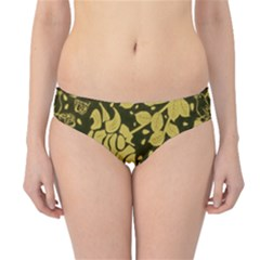 Floral Wallpaper Forest Hipster Bikini Bottoms