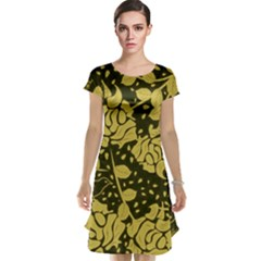 Floral Wallpaper Forest Cap Sleeve Nightdresses