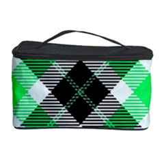 Smart Plaid Green Cosmetic Storage Cases