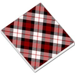 Smart Plaid Red Small Memo Pads