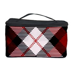 Smart Plaid Red Cosmetic Storage Cases
