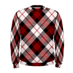 Smart Plaid Red Men s Sweatshirts