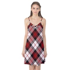 Smart Plaid Red Camis Nightgown
