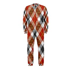 Smart Plaid Warm Colors OnePiece Jumpsuit (Kids)