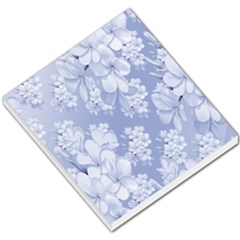 Delicate Floral Pattern,blue  Small Memo Pads