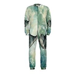 Funny Dswimming Dolphin OnePiece Jumpsuit (Kids)
