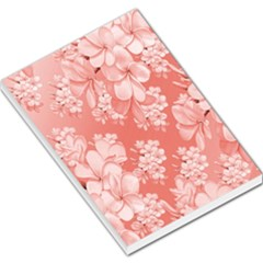 Delicate Floral Pattern,pink  Large Memo Pads