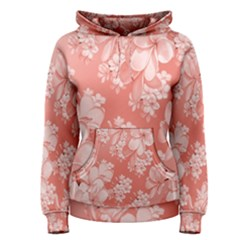 Delicate Floral Pattern,pink  Women s Pullover Hoodies