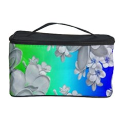 Delicate Floral Pattern,rainbow Cosmetic Storage Cases