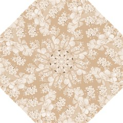 Delicate Floral Pattern,softly Folding Umbrellas