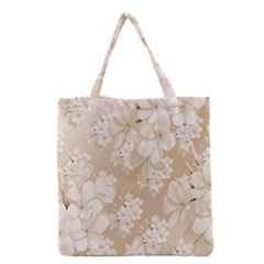 Delicate Floral Pattern,softly Grocery Tote Bags