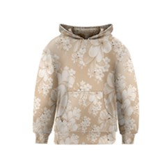 Delicate Floral Pattern,softly Kid s Pullover Hoodies