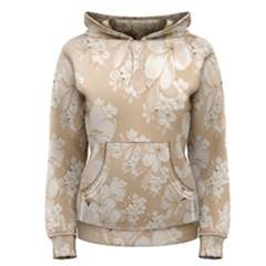Delicate Floral Pattern,softly Women s Pullover Hoodies