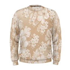 Delicate Floral Pattern,softly Men s Sweatshirts