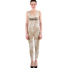 Delicate Floral Pattern,softly Onepiece Catsuits