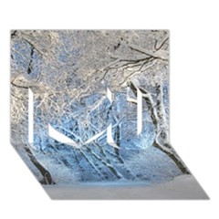 Another Winter Wonderland 1 I Love You 3d Greeting Card (7x5)