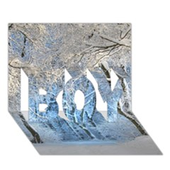 Another Winter Wonderland 1 BOY 3D Greeting Card (7x5)
