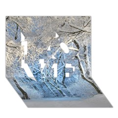 Another Winter Wonderland 1 Love 3d Greeting Card (7x5)
