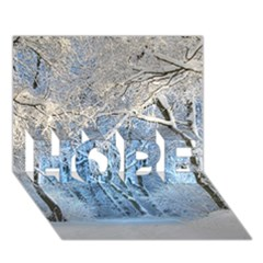 Another Winter Wonderland 1 HOPE 3D Greeting Card (7x5)