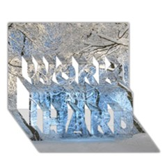 Another Winter Wonderland 1 Work Hard 3d Greeting Card (7x5)