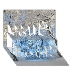 Another Winter Wonderland 1 You Rock 3D Greeting Card (7x5)